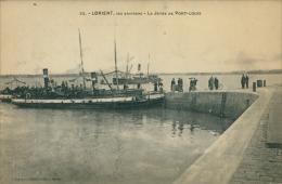 56 PORT LOUIS / La Jetée De Port-Louis / - Port Louis