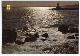 COTE D'AZUR - Coucher De Soleil - écrite (jeu-concours) Et Timbrée - 2 Scans - Provence-Alpes-Côte D'Azur