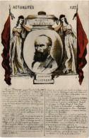 """Paris """"la Commune De Paris En 1871 Gustave Flourens( Musée De Saint Denis) - Autres"""