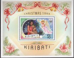 KIRIBATI, 1993 XMAS MINISHEET MNH - Kiribati (1979-...)