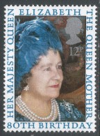 Great Britain. 1980 80th Birthday Of Queen Elizabeth The Queen Mother. 12p MNH. SG 1129 - Unused Stamps