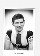 Cor SCHUURING . 2 Scans. Cyclisme. Caballero - Cycling