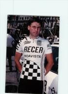 Pedro M. SILVA, Autographe Manuscrit, Dédicace. 2 Scans. Cyclisme. Lire Descriptif. Recer Boavista 1990 - Radsport