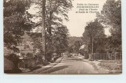 FOURCHEROLLES - Vallée De Chevreuse, Pont Sur L'Yvette Et Route De Chartres. - Non Classés