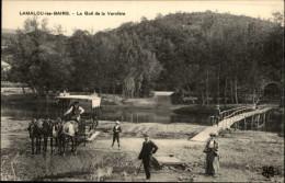 34 - LAMALOU-LES-BAINS - Attelage Cheval - Gué - Lamalou Les Bains