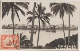 CPA KENYA MOMBASA Panorama Real Photo Timbre Stamp - Kenia