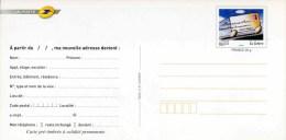 """Entier Postal De 2006  Sur CP De Changement D´adresse Avec Timbre """"Voyage D´une Lettre"""" - Entiers Postaux"""