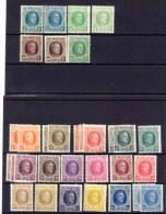 Houyoux, Entre 190 / 210**(2x5f Et 1x10f Aminci+ 1 Pli), Cote > 400 €, - 1922-1927 Houyoux