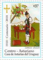 Uruguay 2010 ** Centenario Del Centro Asturiano De Montevideo. See Description. - Vinos Y Alcoholes