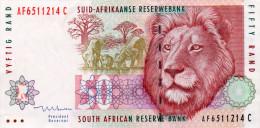 AFRIQUE DU SUD : 50 Rand 1999 (xf+) - Suráfrica