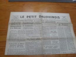 Le Petit Dauphinois  15 Mai  1943 - Zeitungen