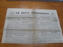 Le Petit Dauphinois  18 Mai  1943 - Zeitungen