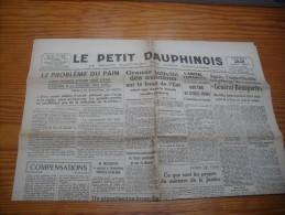 Le Petit Dauphinois  22  Mai  1943 - Zeitungen