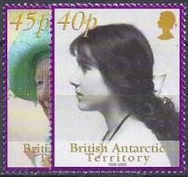 ANTÁRTIDA BRITANICA 2002- Yvert #343/44** Precio Cat. €10.00 - Nuevos