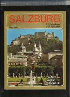 SALZBURG STADT ( Nr. 15 IN DER RISCH-LAU BILDBÄNDE ) 54 COLORFOTOS UND STADTPLAN - Dépliants Touristiques