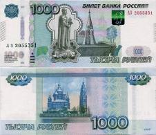 RUSSIA       1000 Rublej       P-272c       1997 / 2010       UNC - Russie
