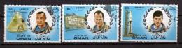 State Of Oman -  Used Space  Astronauts Soyouz . 3 Valori Vedi Descrizione - Oman