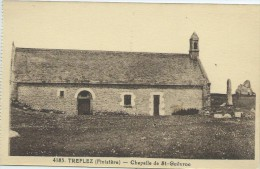 29, Finistère, TREFLEZ, Chapelle De St Guévroc, Scan Recto-Verso - Altri Comuni