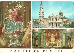 Pompei (Napoli, Campania) Vedute Della Basilica E Della Madonna Di Pompei - Pompei
