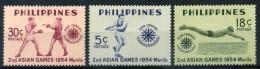 1954 FILIPPINE SERIE COMPLETA ** - Philippines