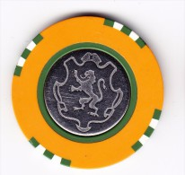Casino De La Vallee St. Vincent 20000 Lire Gaming Chip - Casino