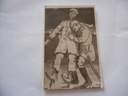 WW1 WW2 CARTOLINA BELGIO BELGIUM BELGIQUE ESERCITO BELGA PROPAGANDA GUERRA GERMANIA - Guerre 1914-18