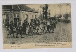 1914 Franse Soldaten Aan De Waesbrug (tussen Pervijze En Veurne) - Guerre 1914-18