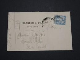 FRANCE - Perforés - Type Sage Perforé PF Sur Lettre ( Avec Texte) - A Voir - Lot  P13605 - Perforés