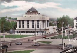 TOURS (37) - La Bibliothèque Municipale Et La Place Anatole-France (automobiles 2CV) - Tours