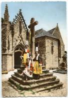 La Bretagne - Eglise De St-TUGEN En Primelin - Costumes Bretons - Dentelée Non écrite - 2 Scans - Autres Communes