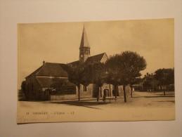 Carte Postale - THOMERY (77) - L'Eglise (987/1000) - France