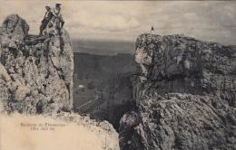 """Rochers Du Chasseron. Superbe Oblitération De """"Les Rasses"""" 1.VII.1905 - VD Vaud"""