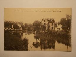 Carte Postale - VILLIERS SUR MORIN (77) - Vue Prise Sur Le Pont (991/1000) - France