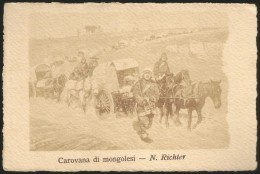 Carovana Di Mongolesi - Mongolie