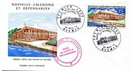 Nouvelle Calédonie - FDC Yvert PA 134 - Hôtel Des Postes De Nouméa - R 1898 - FDC