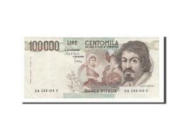 Italie, 100 000 Lire Type Caravaggio - 100.000 Lire