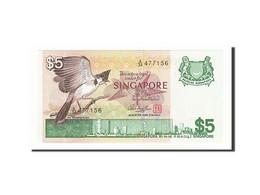 Singapour, 5 Dollars Type 1976-80 - Singapore