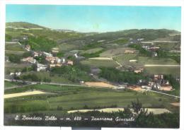 SAN BENEDETTO BELBO PANORAMA VIAGGIATA FG - Cuneo