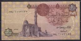 7579. Egypt, Banknote Of 1 Pound, VF - Egypte