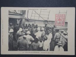 """NOUVELLES HEBRIDES - Rare Cp  De La Campagne De L 'aviso"""" Kersaint """" En 1913 - Entailles à Gauche - A Voir  - P13620 - Postcards"""