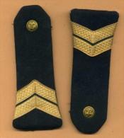 Marine - Epaulettes De Second Maître. - Uniformes