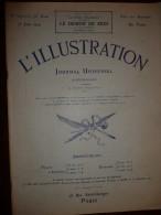 L'ILLUSTRATION N° 3720 Du 13 Juin 1914 - L'Illustration