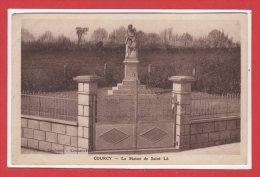 50 - COURCY --  La Statue De St Lô - Altri Comuni