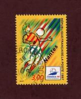 """3076 De 1997 - Oblitéré Cachet Rond - Foot """"France 98"""" . Nantes - Frankreich"""