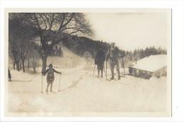 13461 - Le Pont En Hiver Les Places Skieurs - VD Vaud