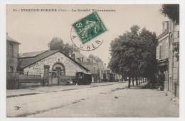 18 CHER - VIERZON FORGES La Société Vierzonnaise, Roullote De Romanichels - Vierzon