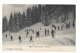 13462 - Vallée De Joux  Skieurs Sport D'hiver - VD Vaud