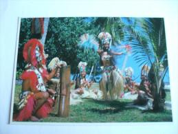 DANSEUSE-ETOILE Du Groupe Tahiti-nui PHOTOGRAPHE ADOLPHE SYLVAIN EDITION ANNEE 1980 ENVIRON - Tahiti
