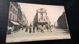 CHERBOURG  PERSPECTIVE DES RUES DU BASSIN ET DES TRIBUNAUX - Cherbourg
