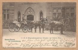 LUXEMBOURG - I.I.K.K. Erbgrossherzoglichen Hohbeitein Auf Schloss Berg - Voyagée 1903 - Luxemburg - Stadt